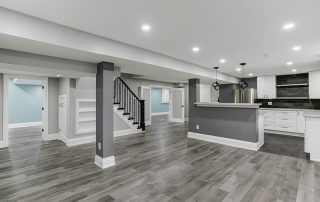 basement renovation in Kitchener