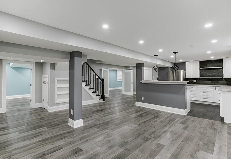 basement renovation in Kitchener